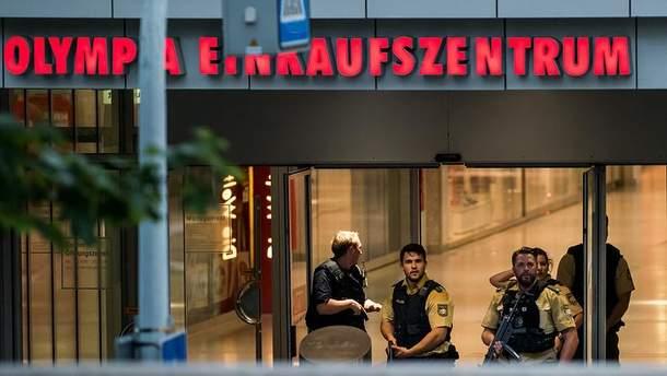 В торговом центре Мюнхена погибло 10 человек