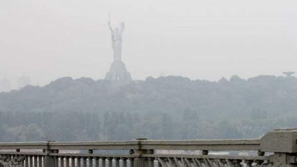 Дымка в Киеве