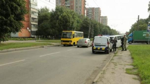 Микроавтобус с журналистами попал в ДТП