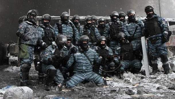 """Спецотряд """"Беркут"""" во время Евромайдана"""