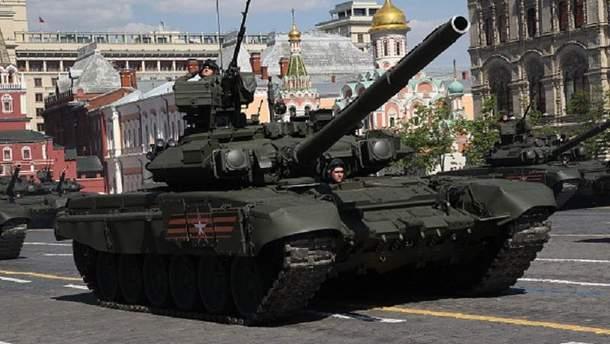 Танк в Москве