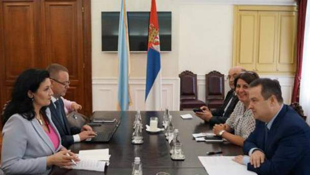 Про антиросійські санкції в Сербії не згадували