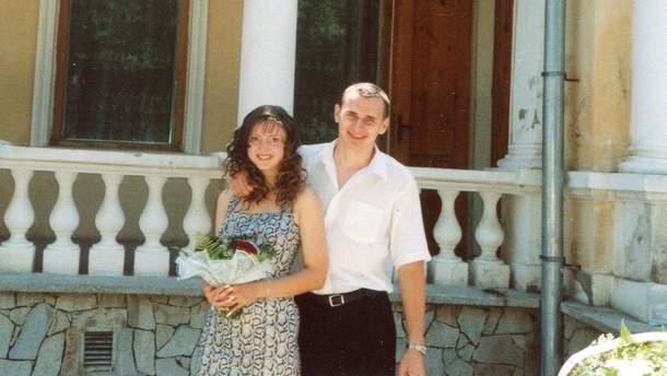 Олег Сенцов с женой Анной