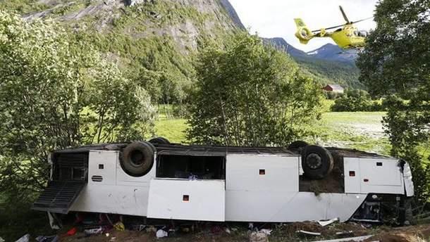 ДТП с украинцами в Норвегии