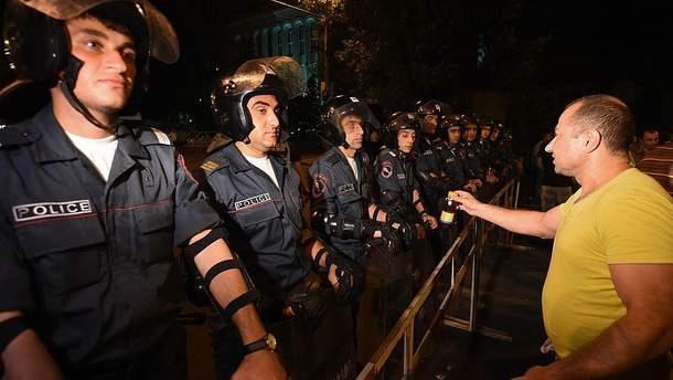 Поліція в Єревані