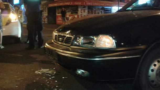 Пассажир Daewoo Nexia получил серьезное повреждение