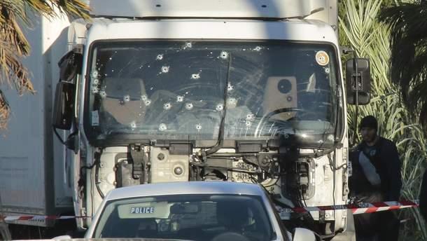 Вантажівка терориста з Ніцци