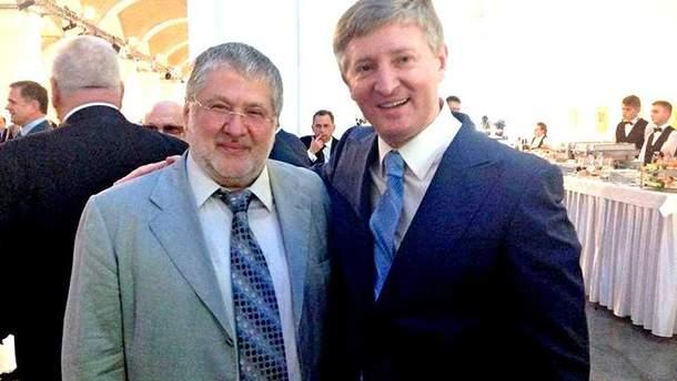 Игорь Коломойский и Ринат Ахметов