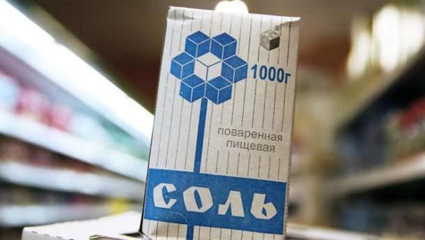 Украинская соль занимает более 13% российского оринку