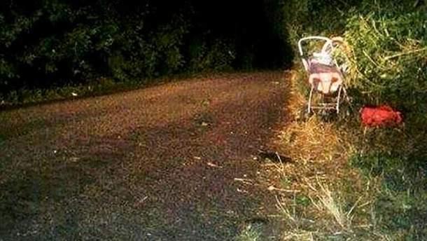 На месте ужасной аварии на Киевщине