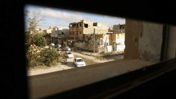 Результати теракту у Бенгазі