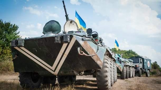 В рядах украинских воинов – без потерь