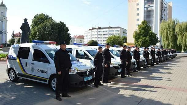 Новая полиция теперь будет работать не только в Луцке, но и в области