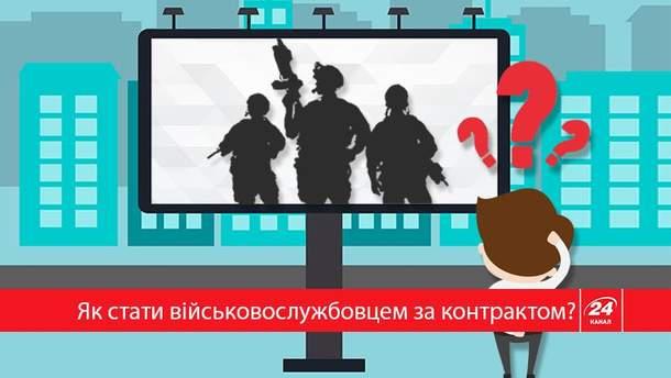 Как присоединиться в ряды Вооруженных Сил Украины