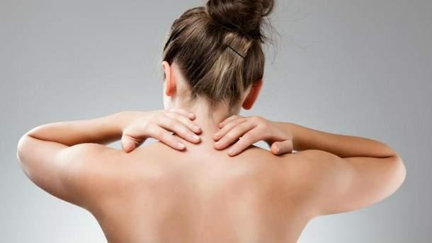 Упражнения против боли в шее