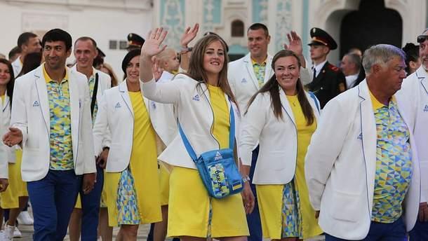Украинские олимпийцы