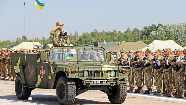 Степан Полторак и военные