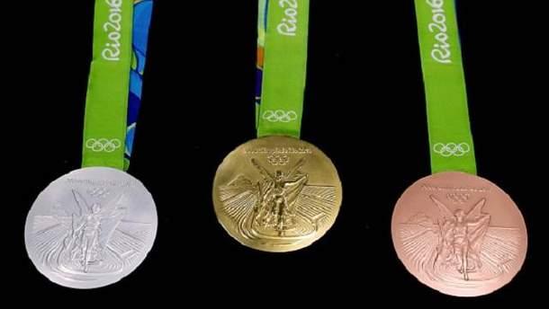 Олімпійські медалі-2016
