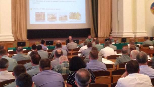 Заседание комитета реформ Минобороны