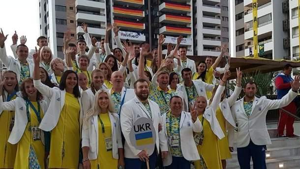 Украинские олимпийцы в Рио