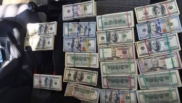 Контрабандна готівка