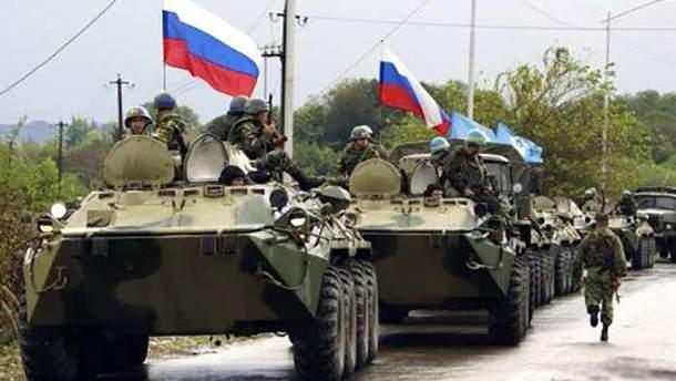 Российские войска активно участвуют в войне на Донбассе