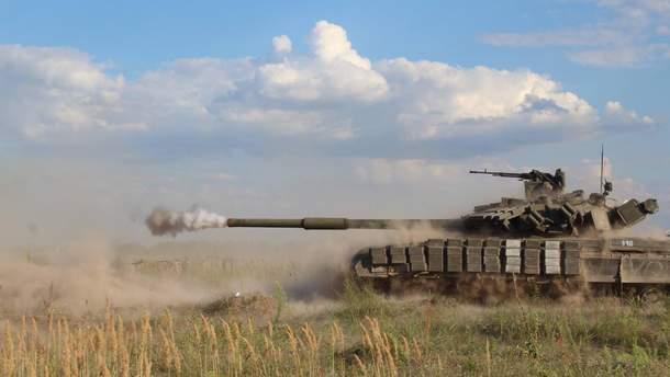 Військові змагання на танках