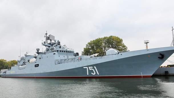 """Російський корабель """"Адмірал Ессен"""""""