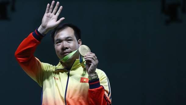 """Хоанг Суан Винь получил первое """"золото"""" в истории Вьетнама"""
