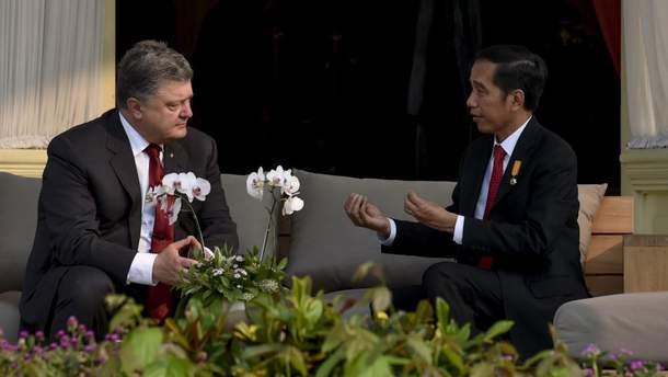 Переговоры президентов Украины и Индонезии