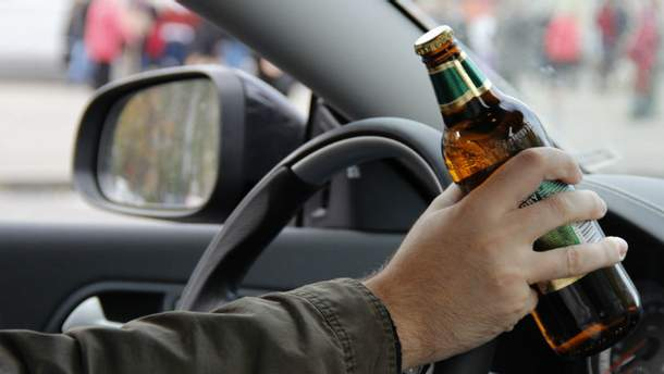 В крові водія майже три проміле алкоголю
