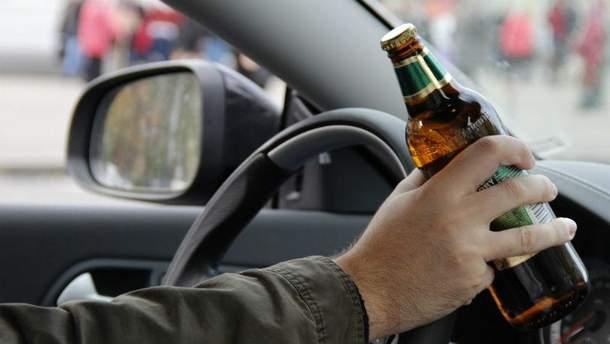 В крови водителя почти три промилле алкоголя
