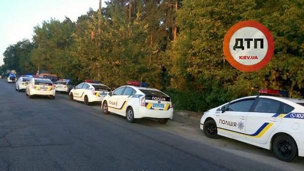Восемь патрульных авто преследовали нарушителя