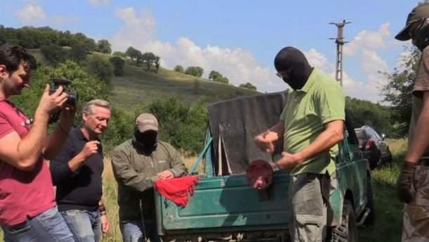 Контрабанда оружия направляется из Украины через Румынию в Европу