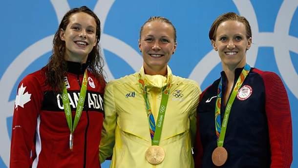 Олимпийские пловчихи