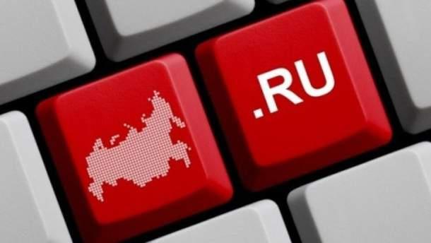Украинцы массово проводят время на российских сайтах