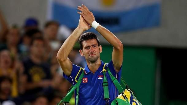 Новак Джоковіч зі сльозами на очах попрощався з Олімпіадою