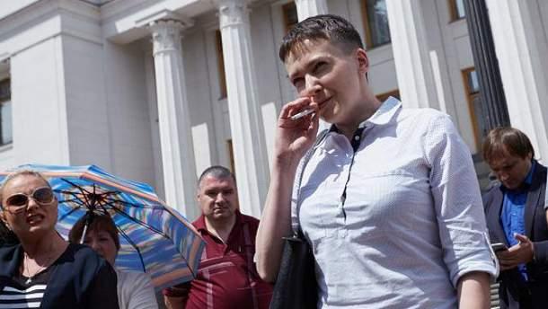 Савченко договорилась об обмене 2 на 2