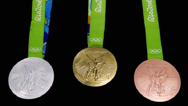 Олимпийские медали-2016