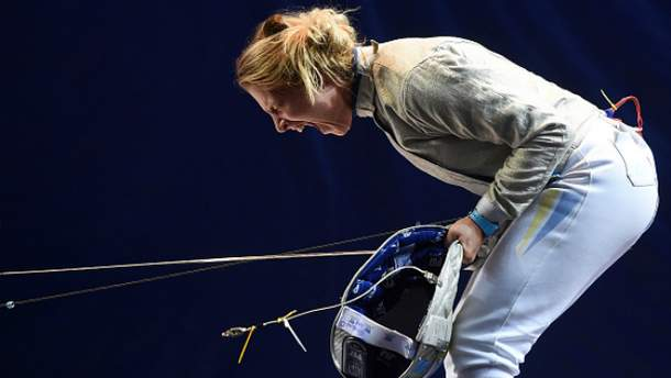 Ольга Харлан завоевала для Украины первую бронзу