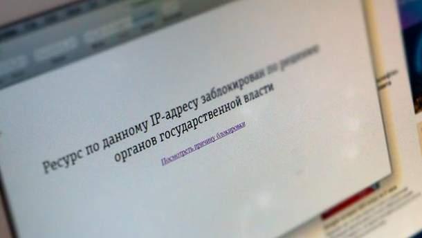 Роскомнагляд заборонив росіянам доступ до відео