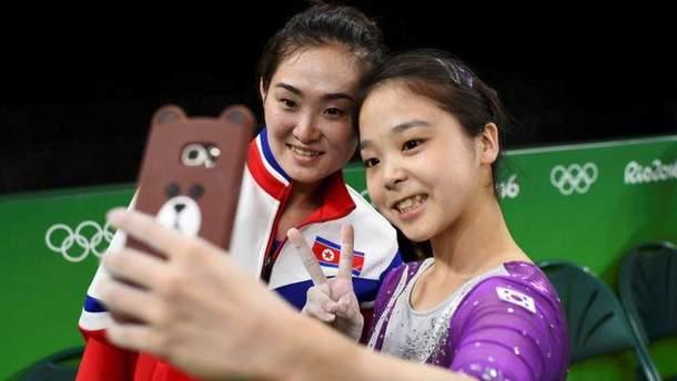 Корейські спортсменки