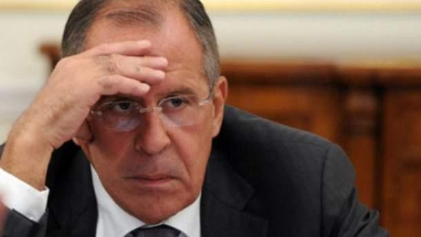 """Лавров еле выговорил """"Луганская народная республика"""""""