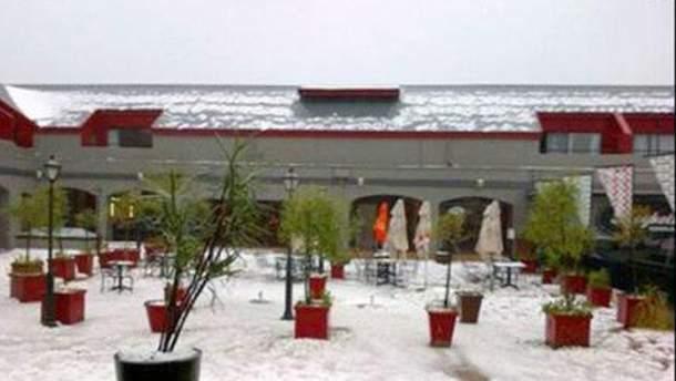 Снігопад у Африці