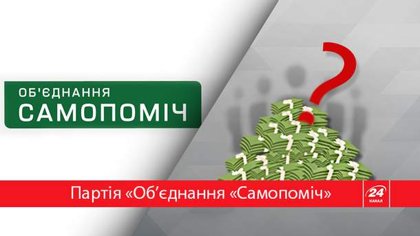 """Сколько заработала партия """"Объединение """"Самопомич"""""""