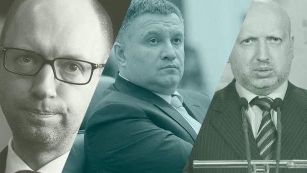 Яценюк, Аваков та Турчинов – головні мішені російської пропаганди