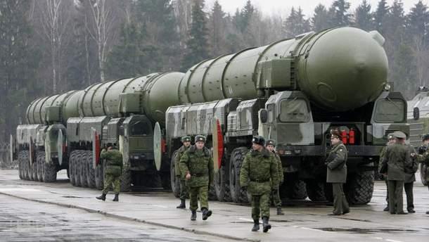 Російське ядерне озброєння
