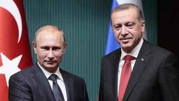 Президенти Росії та Туреччини зустрілись в Санкт-Петербурзі