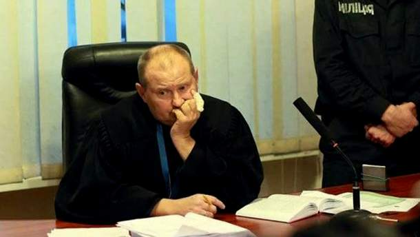 Судья Днепровского районного суда Киева Николай Чаус