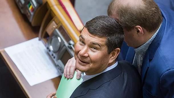Онищенко вже давно за межами України
